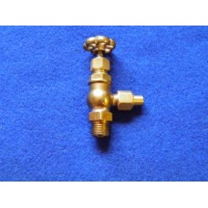 "Injector Steam Valve 1/8"" Pipe 1/4x40 Thread"