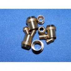 """Pipe solder nipples - 1/4"""" pipe"""