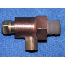 3/8 BSP boiler blowdown valve.