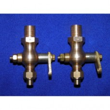 Cylinder drain cocks - traction engine type. M10 x 1mm pitch.