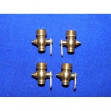 Cylinder drain cocks - Loco type. 5/16 x 32 TPI (set of 4)