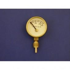"""1"""" pressure gauge, 0 - 250 lbs.  Plain."""