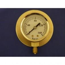 "2"" pressure gauge, 0 - 160 lbs.  With back flange."