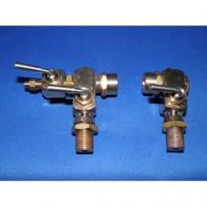 """Water gauge - 3 cock - 1/8"""" BSP - 7mm glass"""