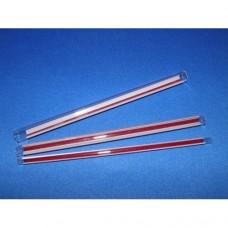 Red stripe gauge glass - 16mm x 300mm long