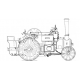 "4"" Burrell Traction Engine"