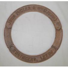 "6"" Fowler Smoke Box Door Name-Ring - each"