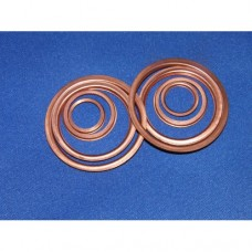 """Copper washers - 'z' section crushable - 9/16"""" ID"""